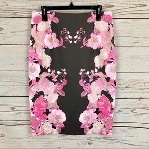 INC International Concepts Cherry Blossom Skirt